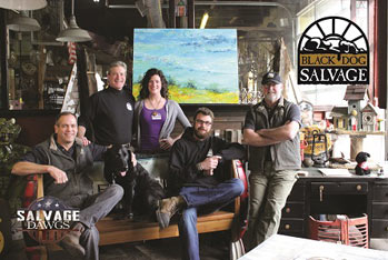 The Salvage Dawgs Visit Historic Bedford Va Salvaging