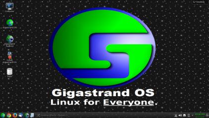 Gigastrand OS 3.0 Desktop