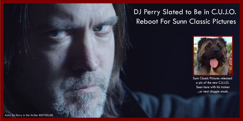 Actor DJ Perry to appear in C.U.J.O