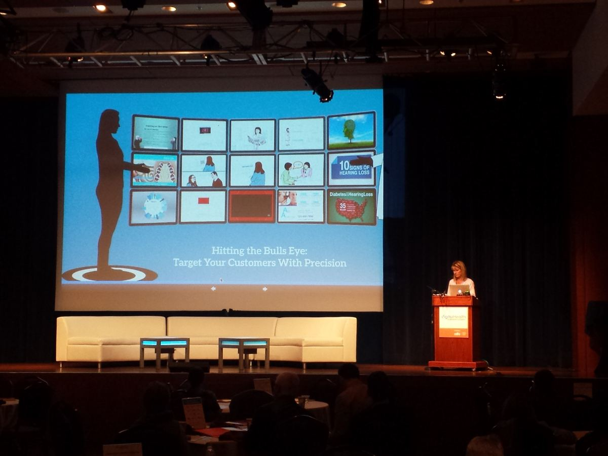 ClearSounds President & CEO Michele Ahlman's Digital Health Summit presentation
