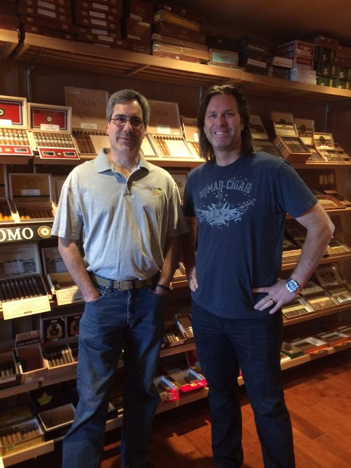 CigarCraig with Fred Rewey of Nomad Cigars