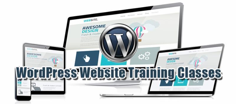 WordPress Training Class Tampa, Orlando, St. Petersburgh, Florida.