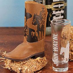 John Wayne Boot and Shooter Set