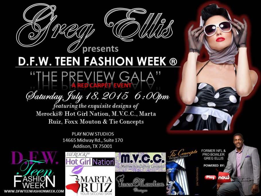 "DFW Teen Fashion Week ""The Preview"""