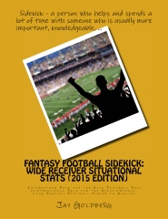 Fantasy Football Sidekick - Wide Receiver Situational Stats (2015 Edition)