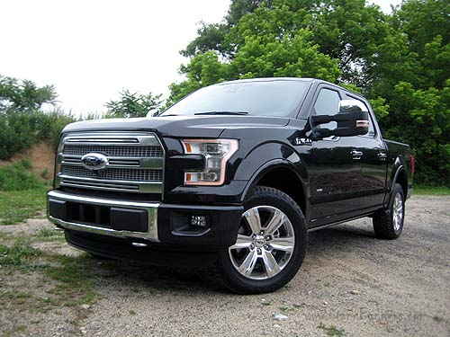 2017 Ford F 150 Platinum