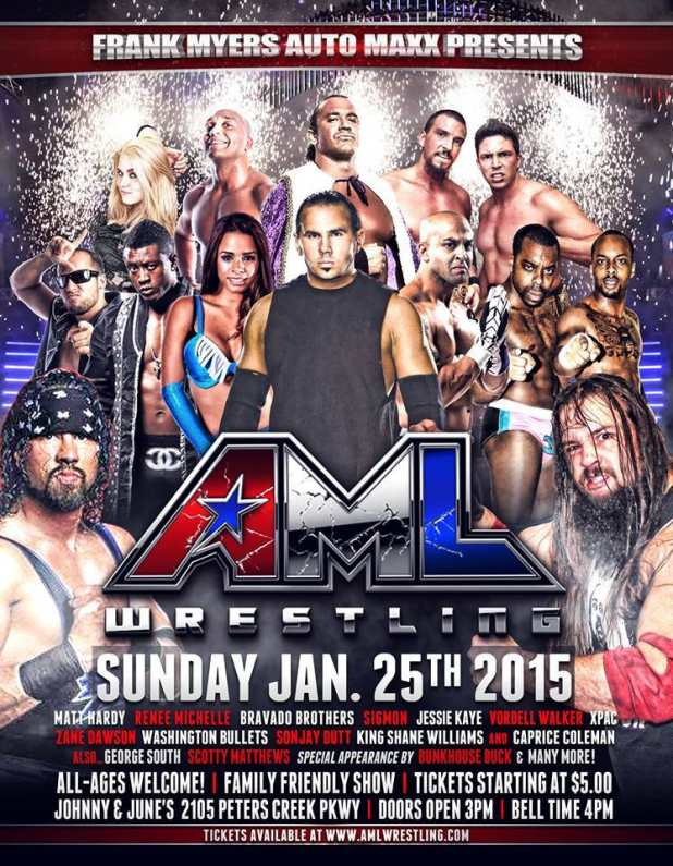 AML Wrestling January 2015