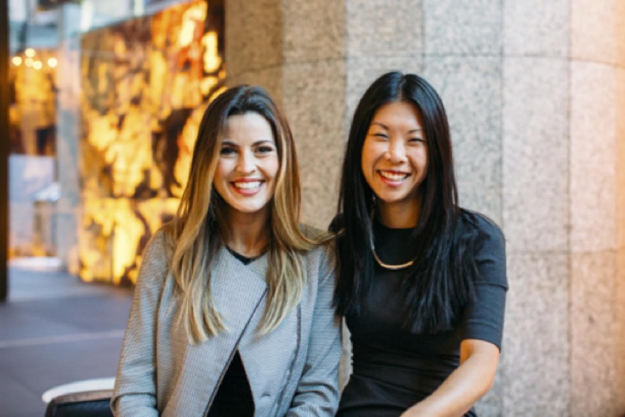Bridget Loudon and Emily Yue