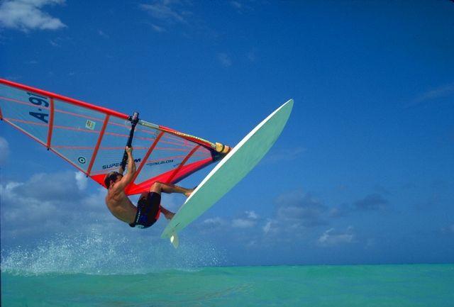 Aruba Windsurfing