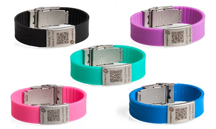 MyMDband in colors