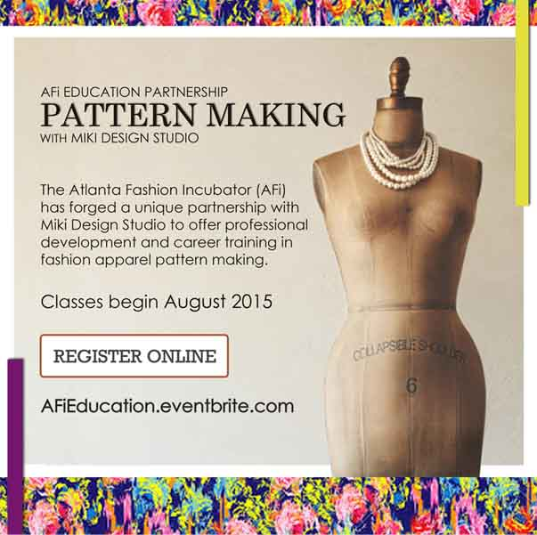 AFi Education, Pattern Making with MDS