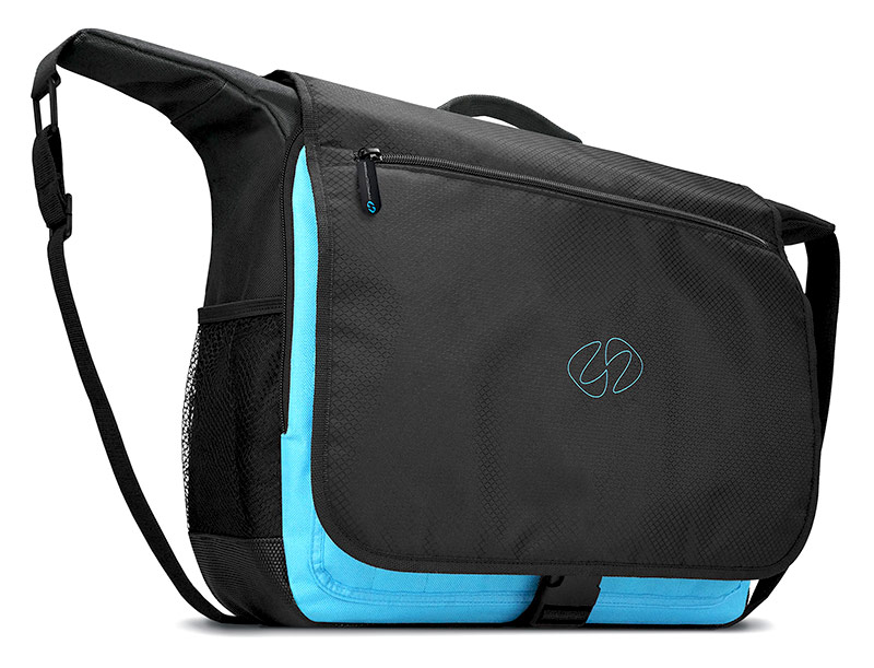 The striking design of the MacCase Universal Messenger Bag