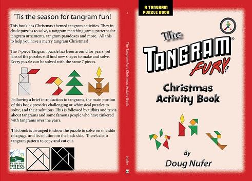 Tangram Christmas Activity Book