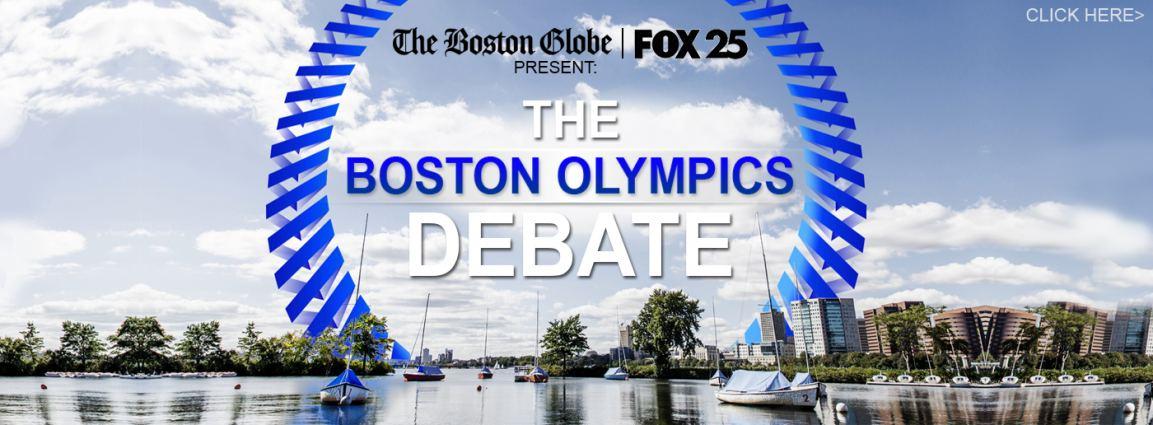 Commonwealth motors sponsors the boston olympic debate for Commonwealth motors lawrence massachusetts