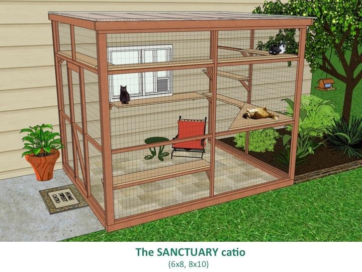 Outdoor Cat Enclosure Plans Free