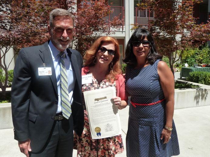 ESC Officials and Sonoma County Supervisor Shirlee Zane