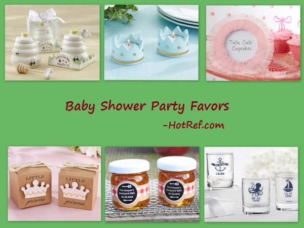 Baby Shower & Birthday Party Favors - HotRef