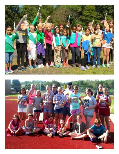 Across USA Girls Competed to Win!  *Girl Scouts of CT   *N. Kansas City High, MO