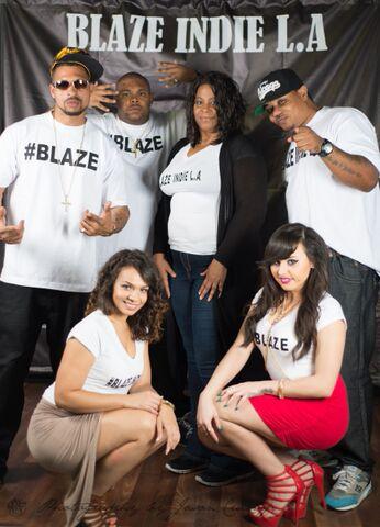 BLAZE INDIE L.A CAST & CREW