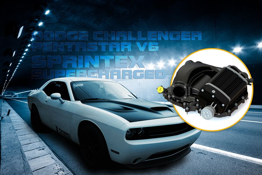 Sprintex Introduces its Supercharger for Late Model Dodge Challengers V6