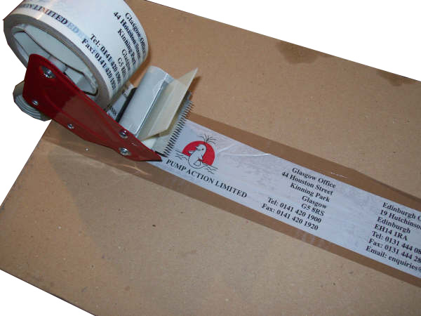 Printed Packing Tape
