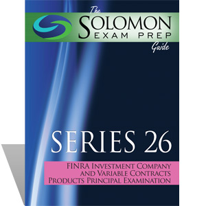 The Solomon Exam Prep Guide: Series 26