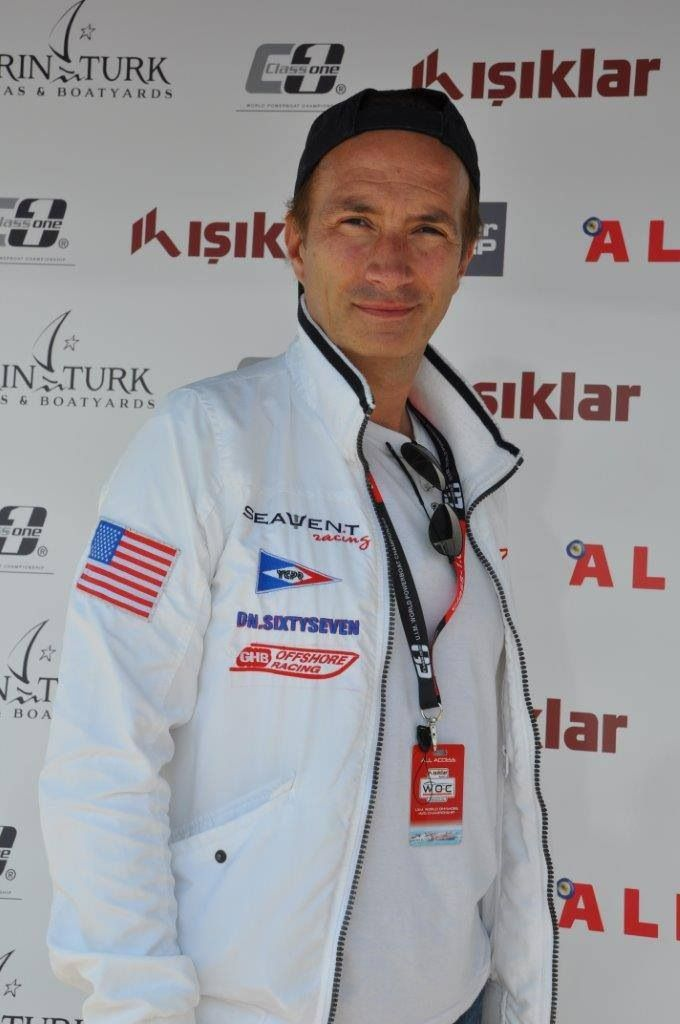 Jerome Brarda competed at the Turkish Offshore Grand Prix 2014