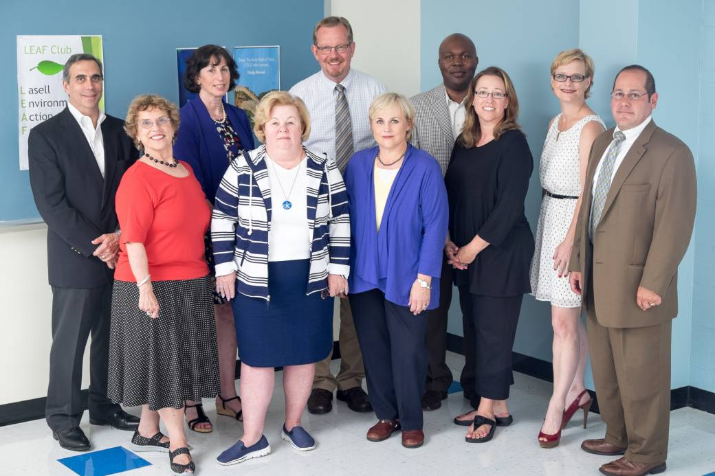 ELDER Management faculty meet at Lasell College