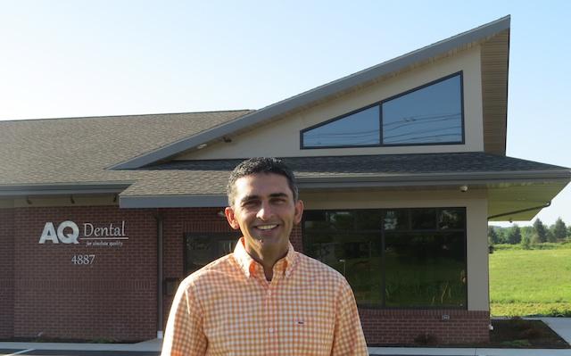 Dr. Adnan Qayyum at his new office at 4887 Hanoverville Road in Bethlehem, Pa.