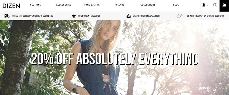 Launch of affordable online fashion retailer dizen clothing dizen clothing prlog - Home dizen ...