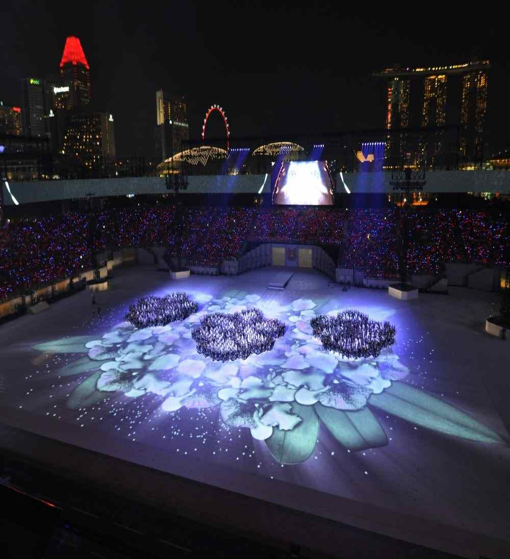 Christie Projectors Create Amazing Visual Spectacle To