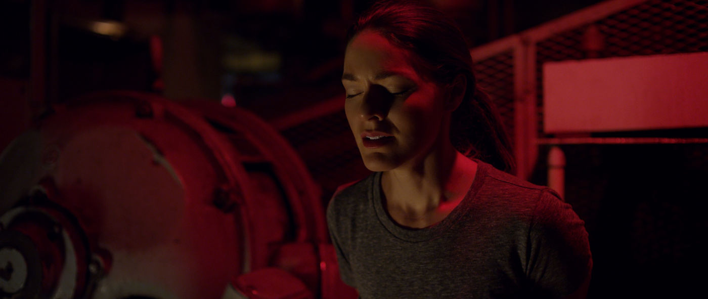 Hannah Barefoot in scifi thriller Omniscient