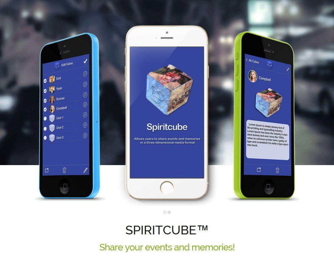Spiritcube app in iTunes