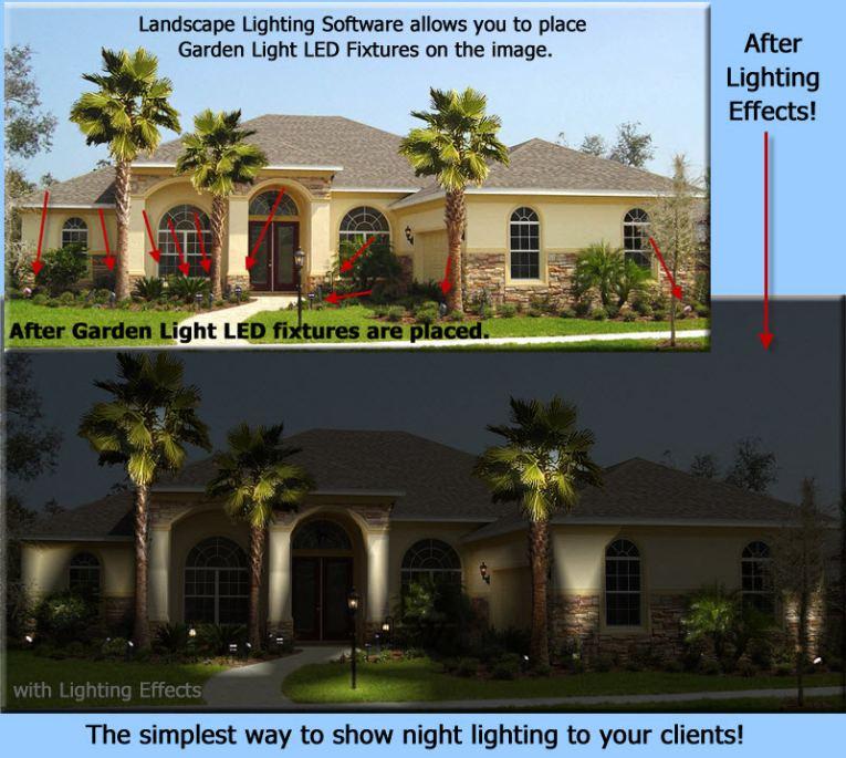 Garden Light LED Design Software