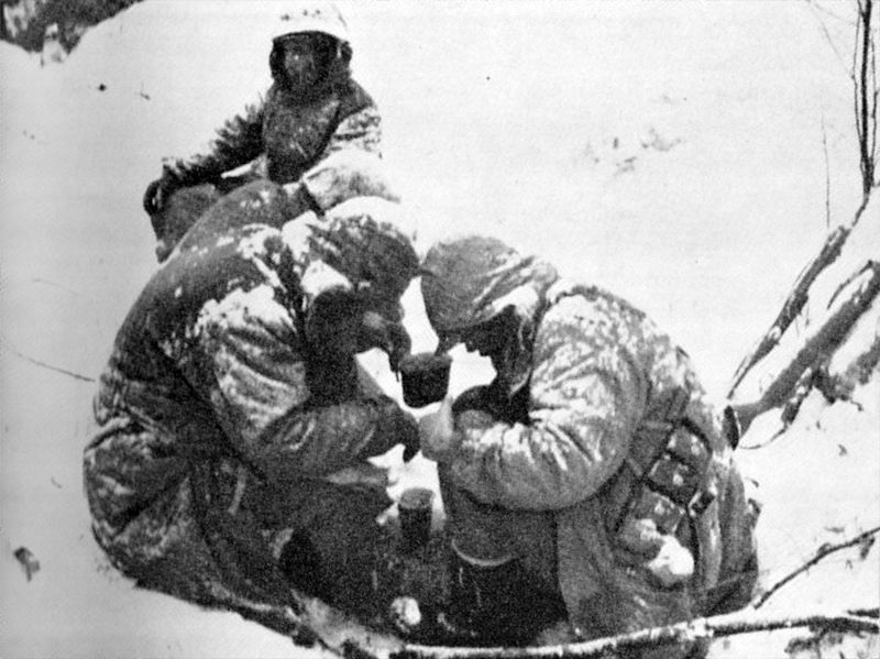 Marines fought in brutal, freezing weather at the Battle of Chosin Reservoir.