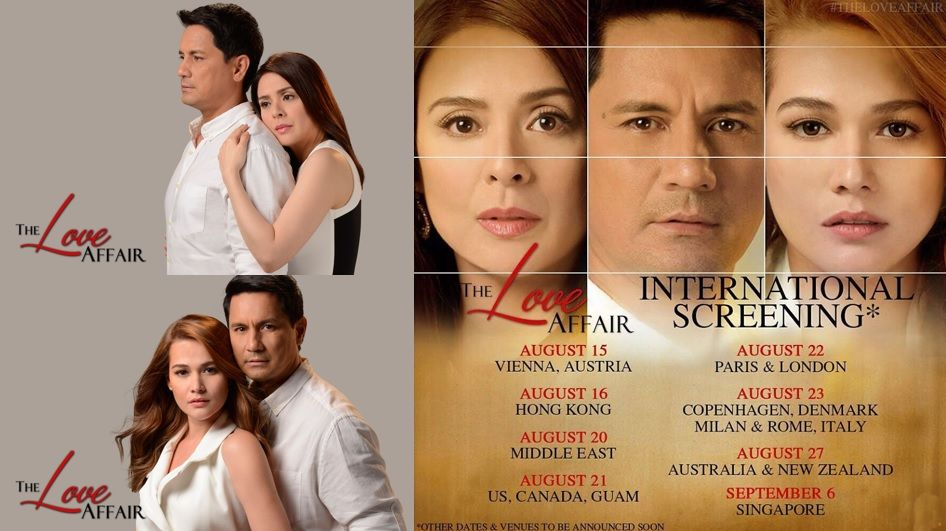 Witness the love affair in cinemas worldwide via tfc themovies