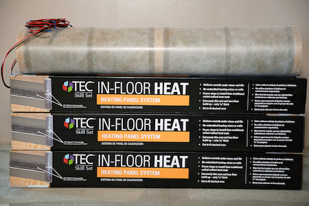 Tec 174 Skill Set Adds Ul Approved In Floor Heat System To