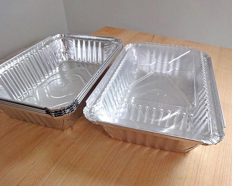 Aluminum Food Containers.