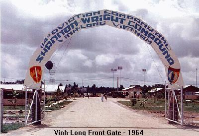 """Shannon Wright Compound"" Vinh Long, Vietnam, base for 114th Aviation Company"
