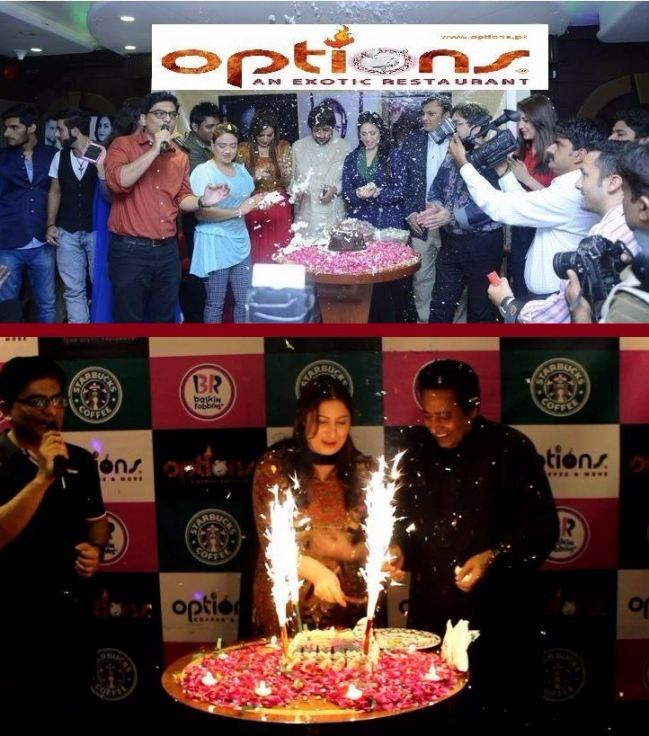 Special Birthday Celebrations At Options Lahore Pakistan