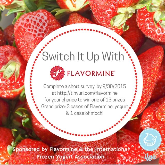 Switch It Up With Flavormine Contest