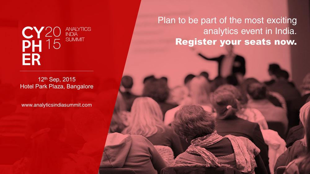 CYPHER 2015, Analytics India Summit