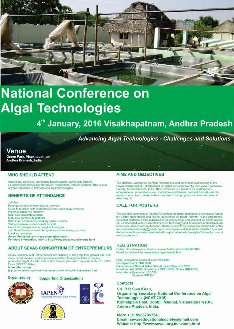 flyer_national_conference_algal_technologies