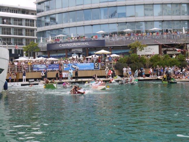 2015 Gibraltar Charity Cardboard Boat Race www.oce