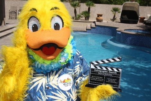 Duckie with Videographer Award for Water Safety PSA