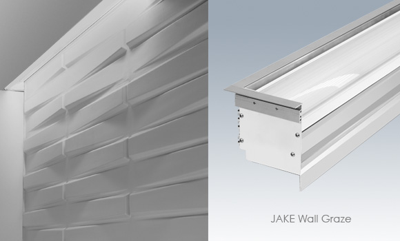 Wall Wash And Wall Graze Added To JAKE LED Recessed