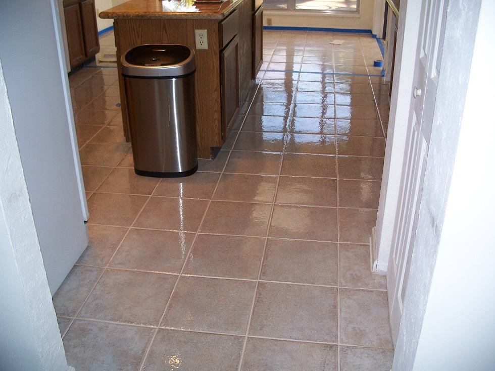 Flooring company now offers new tile and grout sealer prlog for Flooring companies
