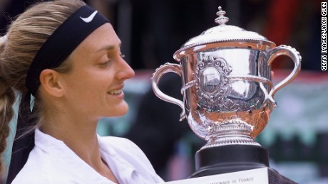 Mary Pierce French Open Champion goes to Jordan