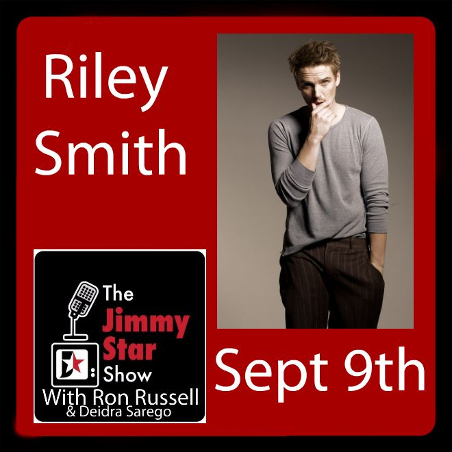 Riley Smith on The Jimmy Star Show(photo by Mikey Azria)