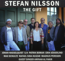 THE GIFT - new CD by Stefan Nilsson Top 10 best jazz-rock CDs of 2015!